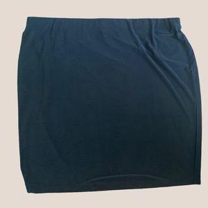 2/$18 Black / Pull On / Pencil / Skirt